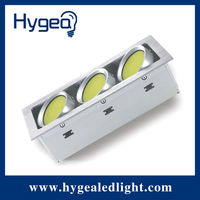 12w cob led downlight 4 inch with 120mm cut out