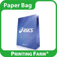 Customized Logo Printed Kraft Paper Shopping Bag