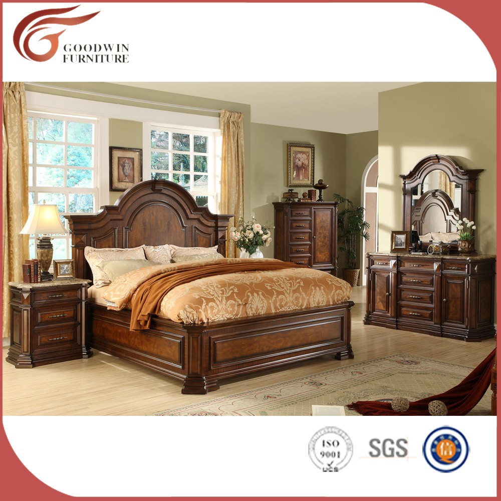 Antique bedroom set dubai bedroom set for Vintage bedroom furniture