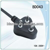 South Africa Extension cord with plug -16A