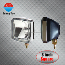 Hot sale factory price 3 inch round/square xenon sealed beam lamp