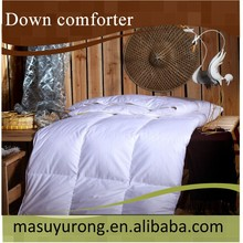 luxurious cotton cover duck down comforter MS-29