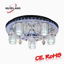 Modern crystal ceiling lamp for bedroom