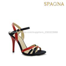 2014 estilo de la moda las mujeres sandalias elegantes zapatos de tacones altos