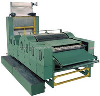2015 double cylinder double doffer cotton/fiber carding/combing machine-- made in China