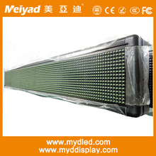 led module p10 single green led message display outdoor single color LED module