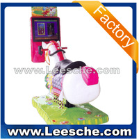 LSJQ-052 Funny Pony Kiddie rides game equipment kiddie ride kids ride on car golden horse with LCD screen TH0108