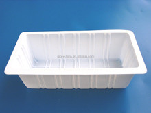disposable round clear plastic trays with OEM design