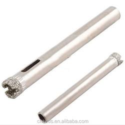 "Tile Glass Hole Saw Diamond Core Drill Bit 6mm 1/4""Cutting Diameter glass cutting diamond drill bits"