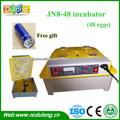 CE aprovado JN8-48 incubadora de ovos