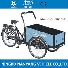 Freight Tricycles Bicycle Family Kids Trailer Beach Park Manual