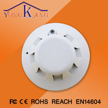 Photoelectronic Smoke and Heat Detector for Fire Alarm to ensure home security