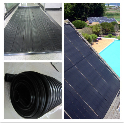 Solar System Home Uesd EPDM Flat Layer Panel Solar Water Heater System