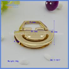 manufacture zinc Alloy handle diamond for lady's handbag wholesale free sample