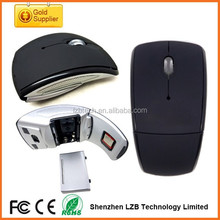 High quality foldable wireless mouse, mini wireless mouse for promotion gift