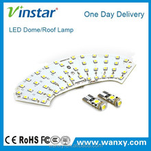 W203 01-07 accessories led car roof light 12v auto led dome light roof light