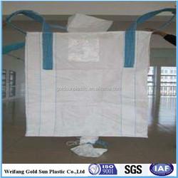 pp jumbo bag/pp big bag/1000kg to 3000kg big bag 1 ton 1.5 ton for industrial material sand cement lime,etc
