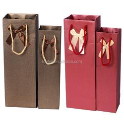 wine bottle bag,wine paper bag,cheap wine bags