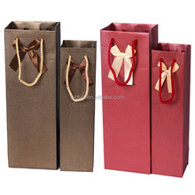 wine bottle bag,wine paper bag,cheap wine bags