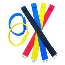 Colorful wrist band usb flash drive, new model, China manufacturer