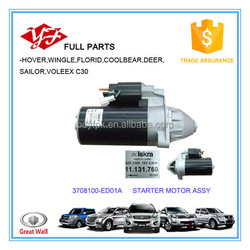 3708100-ED01A Great wall hover h6 starter motor