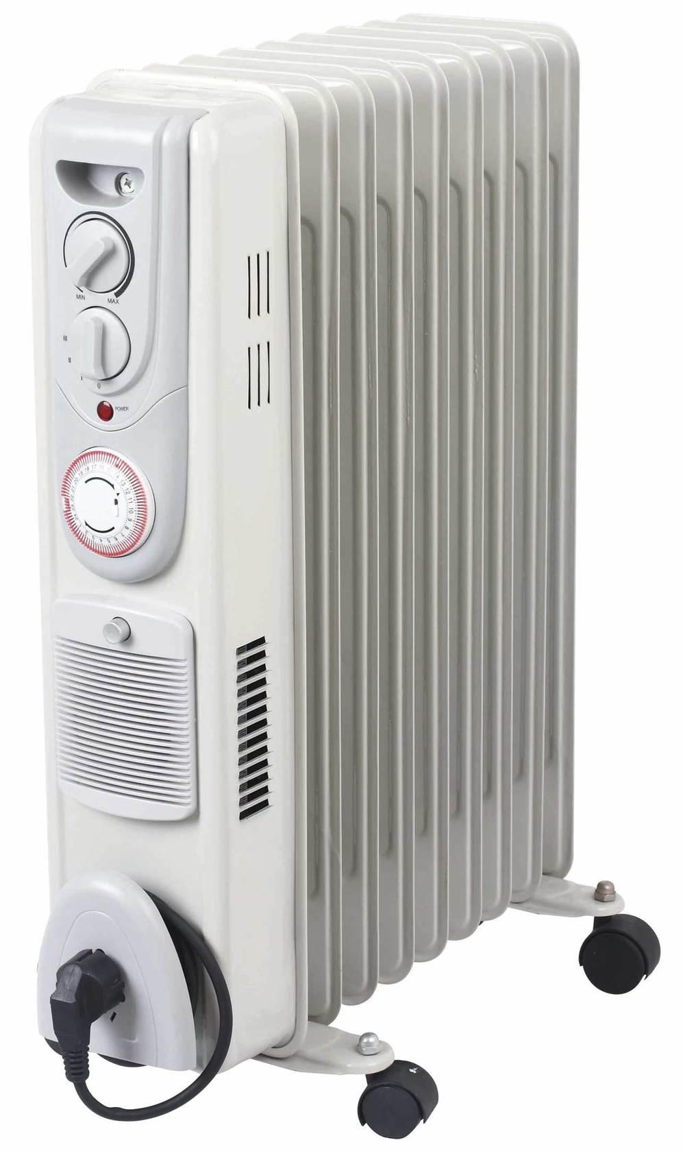 Rempli d 39 huile chauffe radiateur lectrique id de for Puissance radiateur electrique chambre