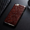 High quality Genuine cowhide leather cover case for iphone 6 plus/handmade leather cover/leather mobile phone case