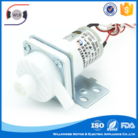 Factory direct sale small low pressure 12 volt electric water pump