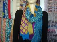 printed scarf 100% wool schal