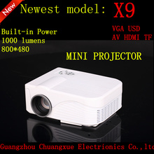 Newest model mini projector big picture high brightness projector best price home theater projector