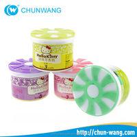 China Factory refillable car air fresheners organic gel car air freshener