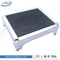 MINA-MC005 luxurious stainless steel hospital foot rest stool