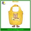 fashion new design animal dog shape folding shopping bag
