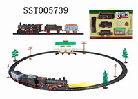 Hot sale electric Christmas toy with music and light, christmas items B/O Train