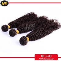Full cuticles afro kinky human long hair wigs