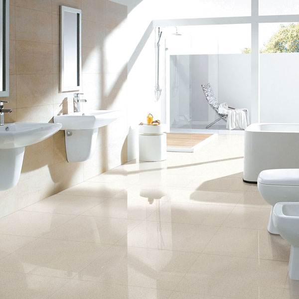 Non slip china factory ceramic bathroom border tiles buy for Porcelain tile bathroom floor slippery