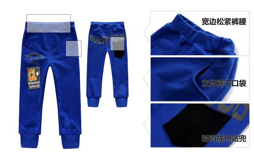 Скидки на Осень зима розничная детская одежда продавать , как горячие пирожки новый мальчик спорт-тройку - частей пальто + с длинными рукавами , майка + брюки