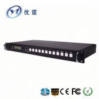 hdmi video matrix 8x8 EDID rs232 1.3V support 1080P with HDCP compliant
