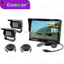 Bus Rear View System with 7 inch monitor sony CCD camera