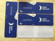 2015 High Luminous pvc card ,pvc Luminous card set , cheap Luminous card cover