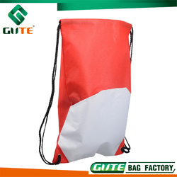 Welcome To Inquire Red Polyester Bag Recyclable material