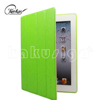 For ipad case with pure color cover crystal texture case on surface