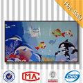 oceano mosaico de vidro design belo mosaico de vidro da parede murais de arte de papel de parede para quarto de crianças