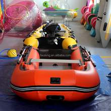 Saturn deep-v keel mini inflatable tender boats,inflatable pontoon boat