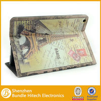 New Arriva Eiffel Tower Retro PU Leather case for iPad Air