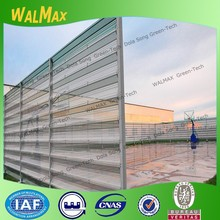 WF-DS006 color coating windbreak type playground steel fence