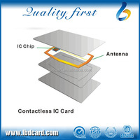 ISO Approved NFC 13.56MHz MIFARE Ultralight C Blank RFID Card for Mobile Payment Tickets