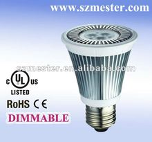 2012 new style 6W full lens dimmable LED PAR20,3 years warranty