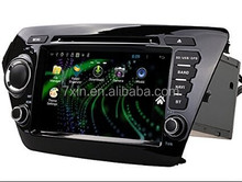 Universal dashboard Car DVD player built in GPS touch screen DVD CD MP3 MP4 FM TV Radio Car Player