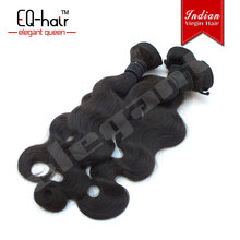 2013 tangle free natural black wholesale virgin indian remy hair